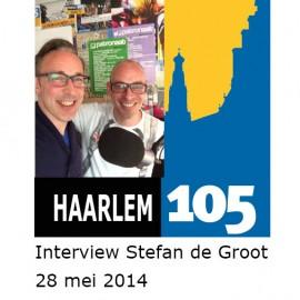 Haarlem 105 Radio interview tentoonstelling eiBoek