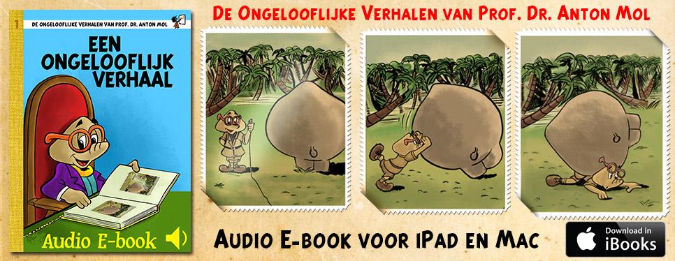 Een ongelooflijk verhaal – Audio ebook voor iBooks