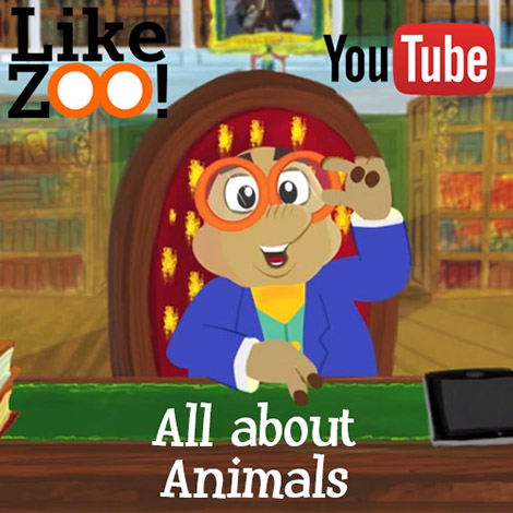 LikeZOO! is the YouTube channel of Prof. Dr Anton Mole, explorer of almost extinct animals. In each video he will tell everything about animals he meets on his incredible journey's.