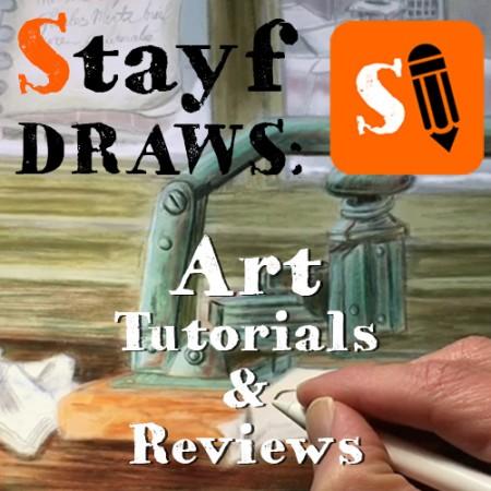 Stayf Draws Art Tutorials and videos