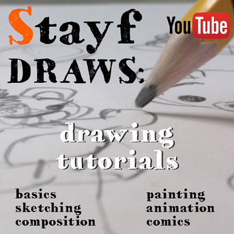 StayfDRAWS: drawing tutorials