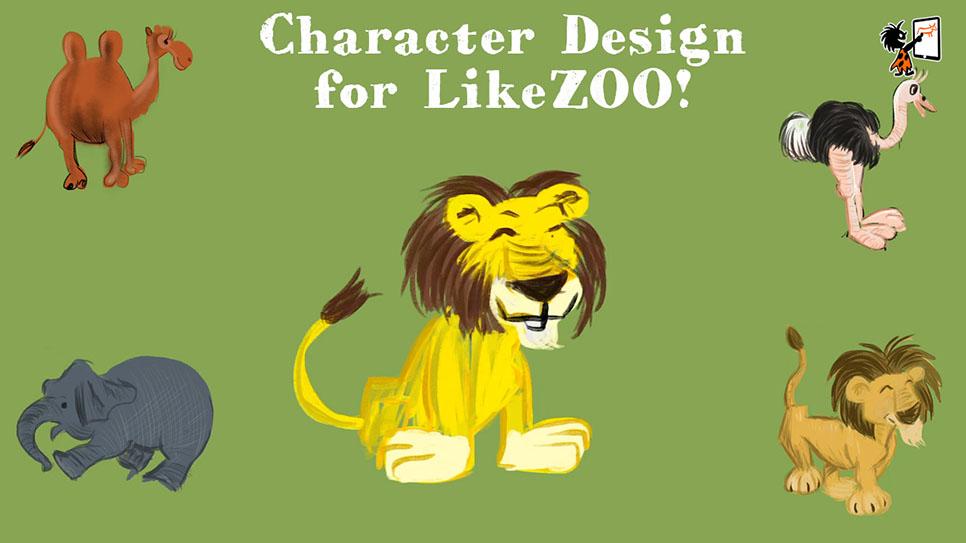 CharacterDesign-LikeZOO