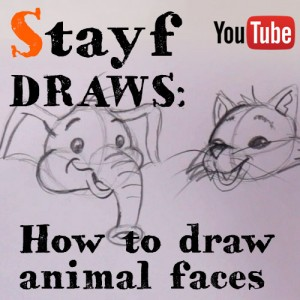 How to draw animal faces