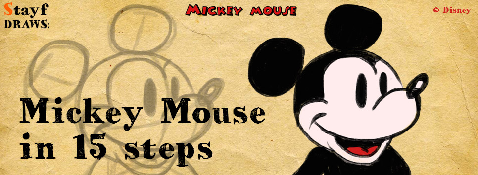 Draw MickeyMouse-Title