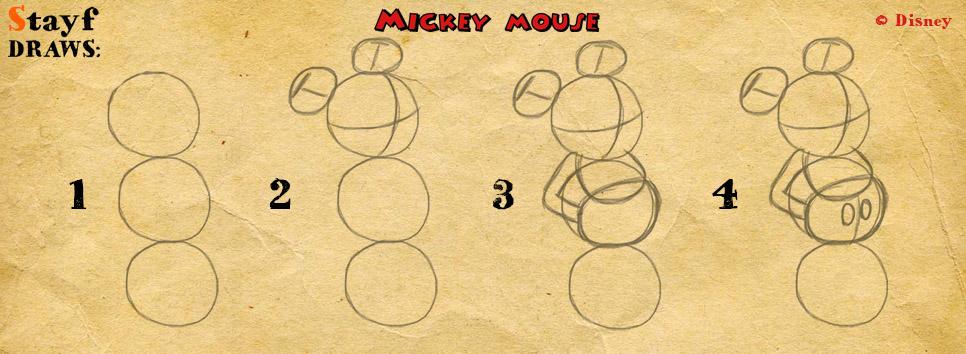Draw MickeyMouse1