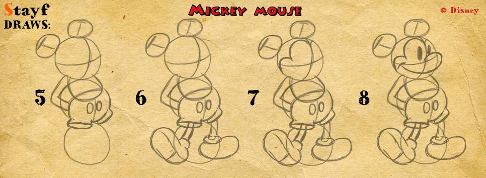 Draw MickeyMouse2