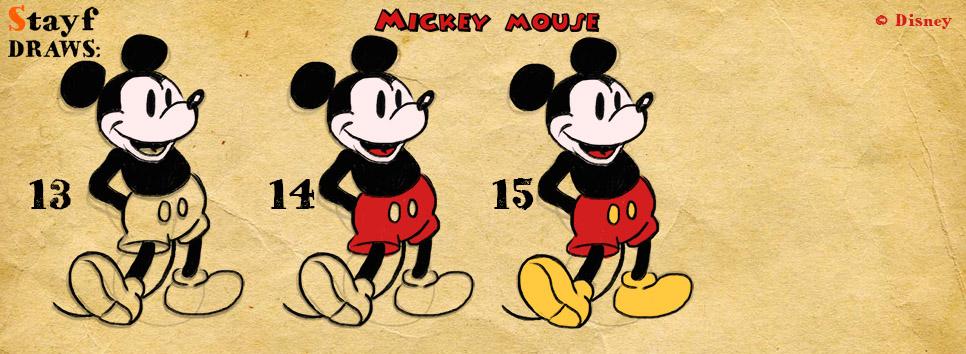 Draw MickeyMouse4