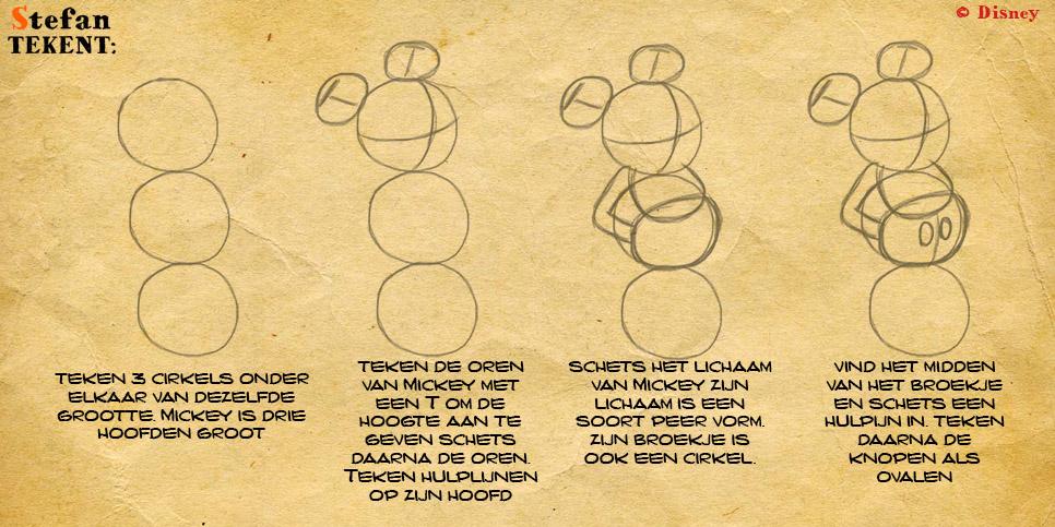 MickeyMouseTekenen1