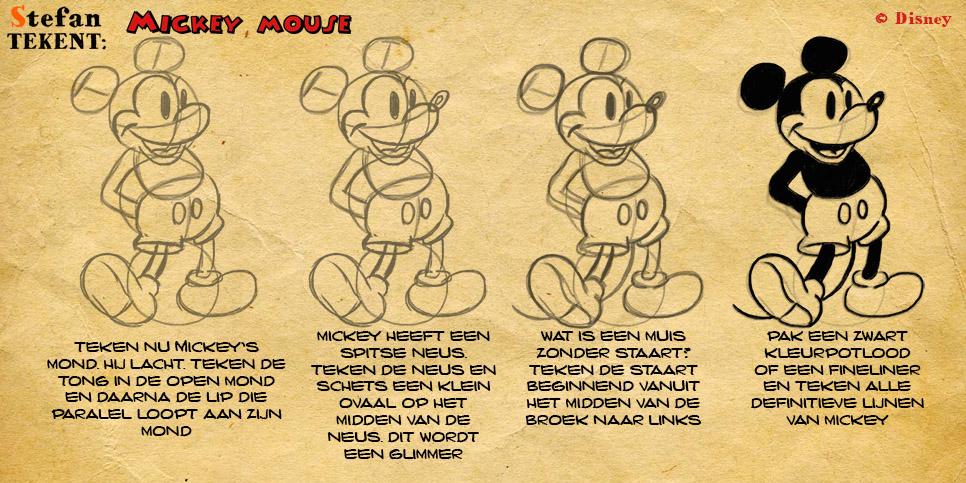 MickeyMouseTekenen3