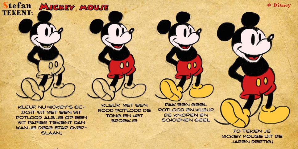 MickeyMouseTekenen4