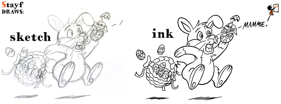 StayfDraws-EasterBunny-sketch