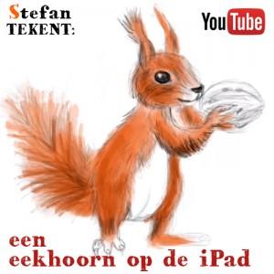 Schetsen op iPad