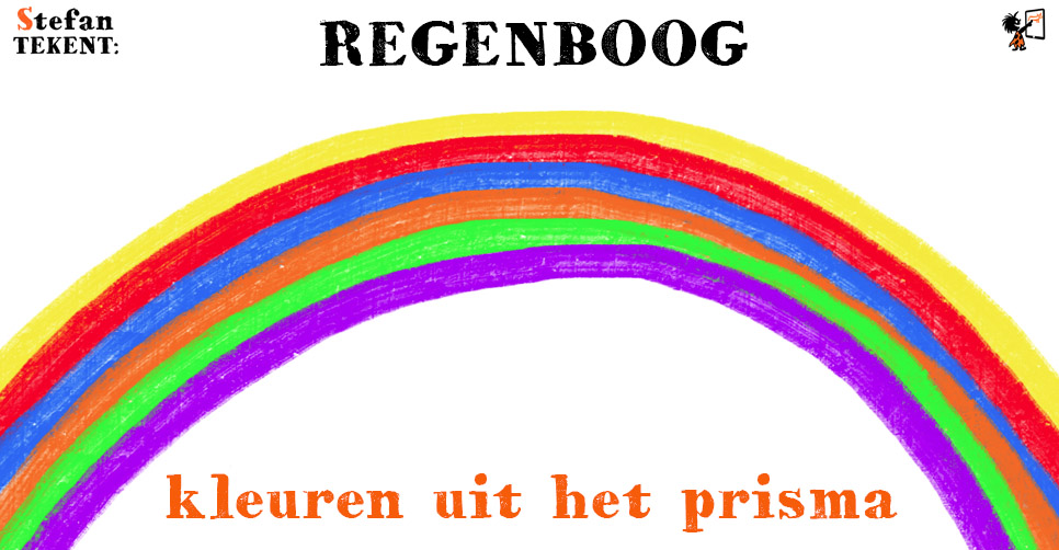 Kleuren-REGENBOOG-StefanTekent