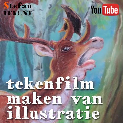 Tekenfilm maken van illustratie