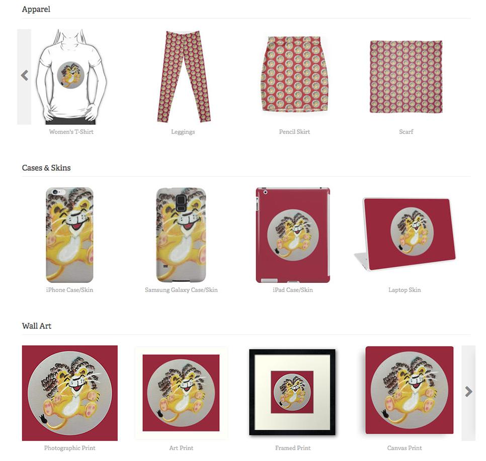 CubbyLionMerchandise