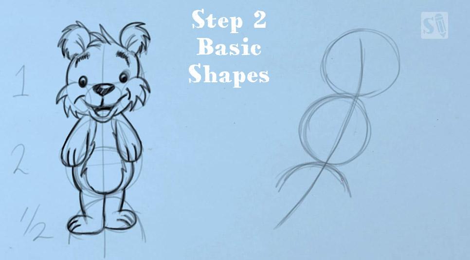 SD-Cartoonbear-5steps2