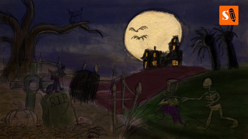 StayfDraws-Halloweenlandscape