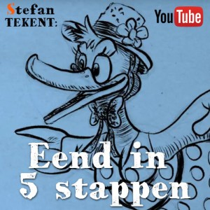 Cartoon Eend Tekenen