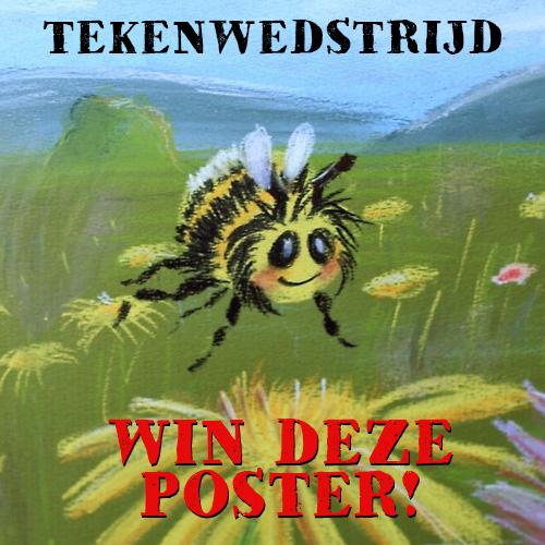 Tekenwedstrijd! Win Poster!