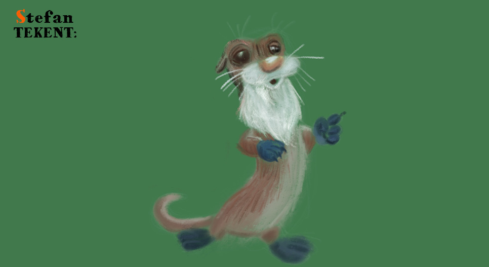StefanTekent-ApplePencil-Procreate-otter