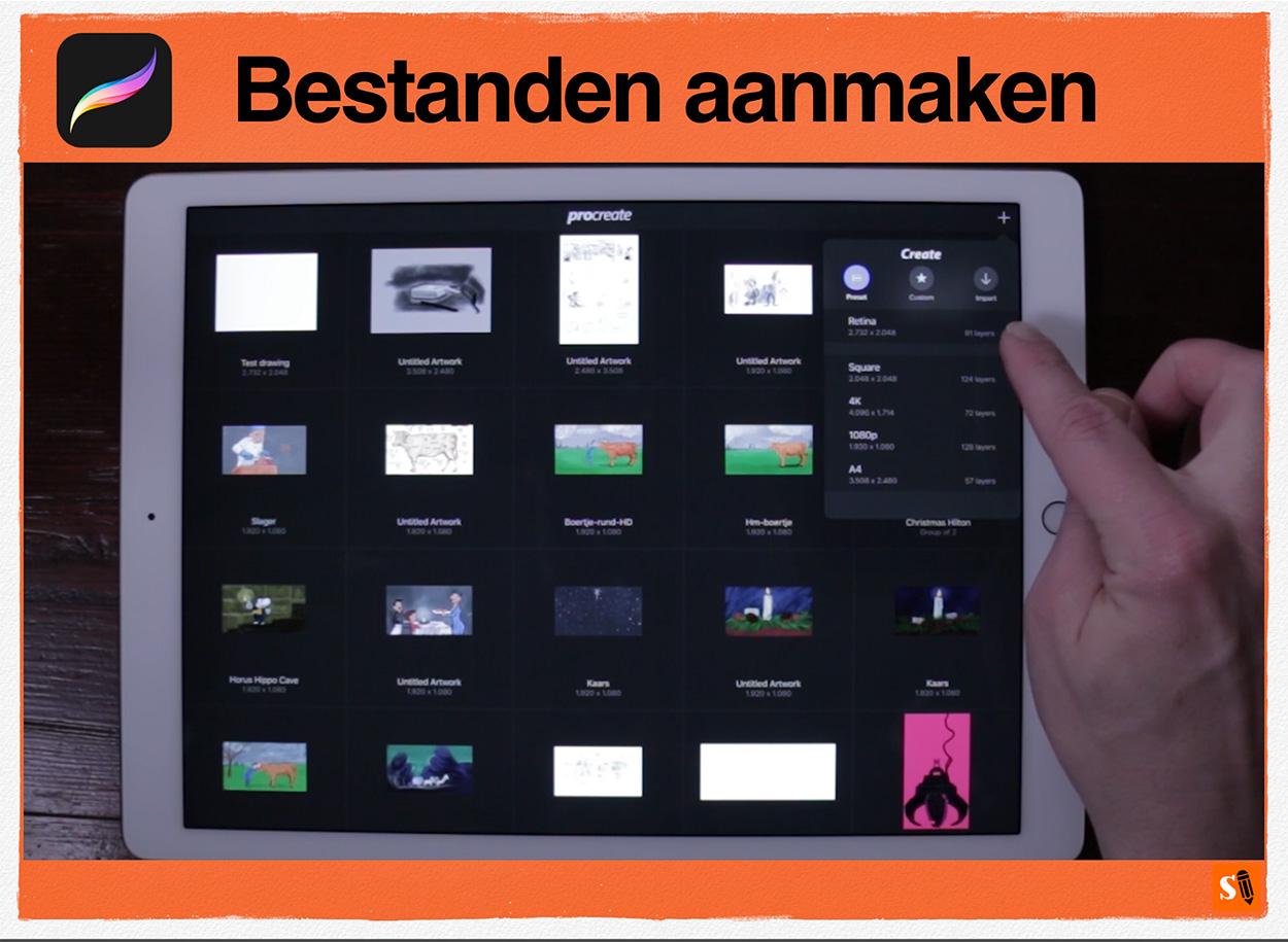 Procreate Handboek Video