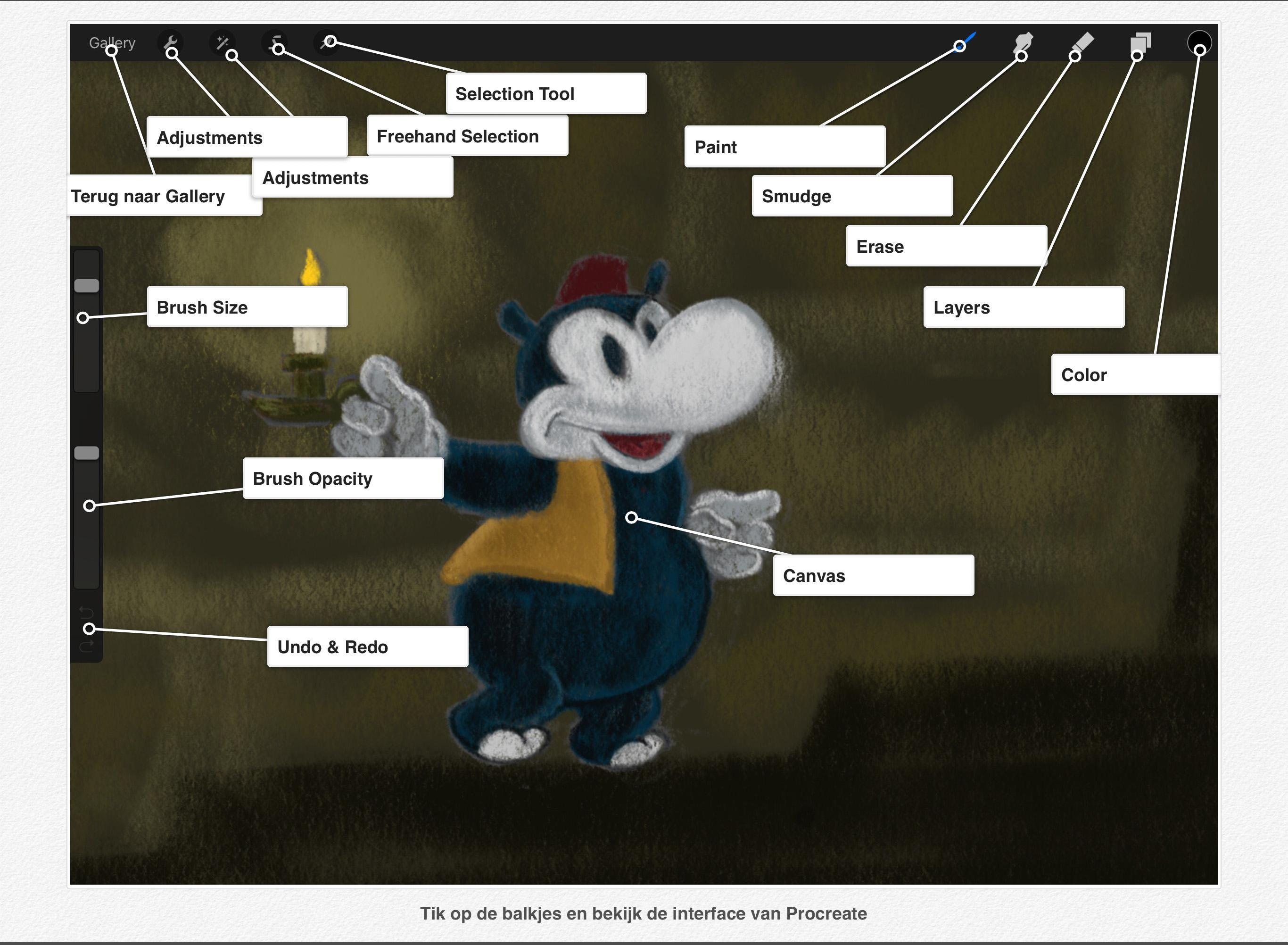 Procreate Handboek interactief
