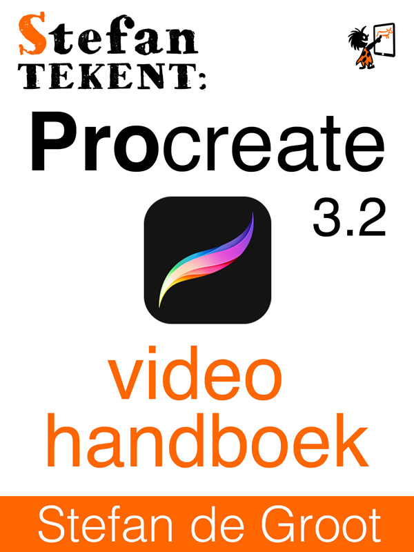 Stefan Tekent: Procreate 3.2 Video Handboek