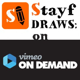 Stayf Draws on Vimeo On Demand