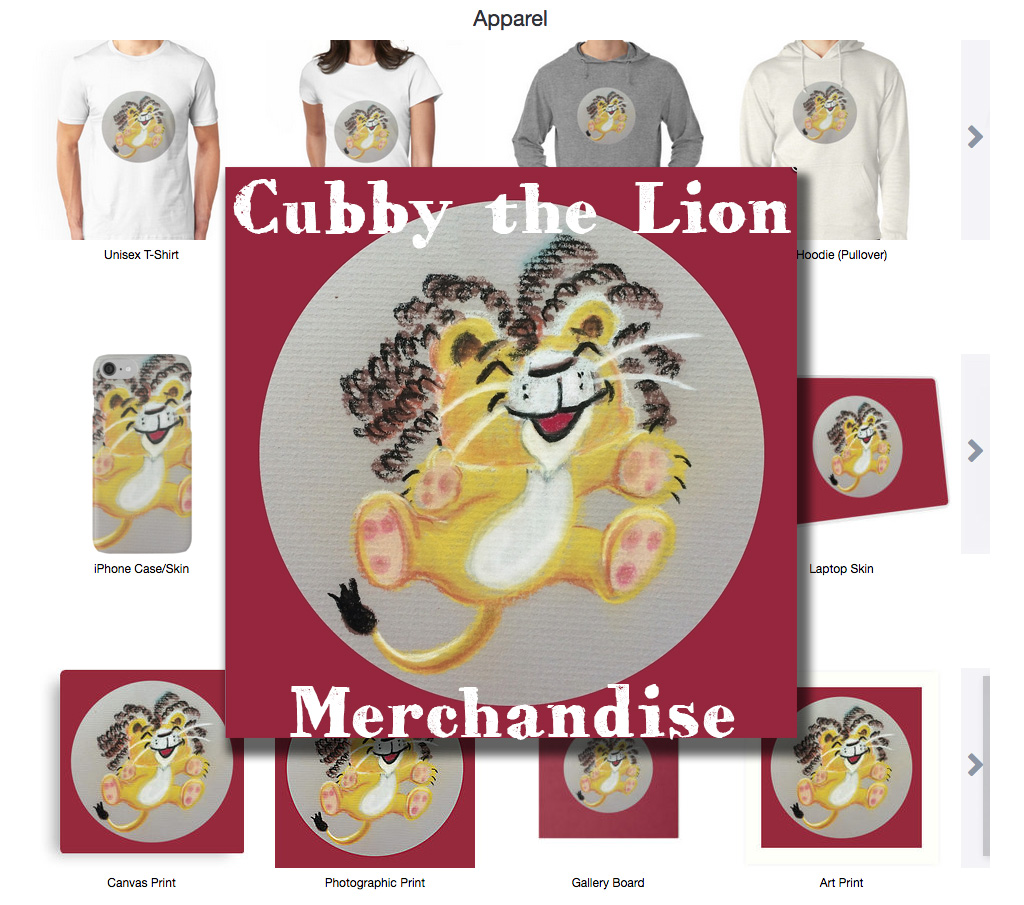 cubbythelion-merch