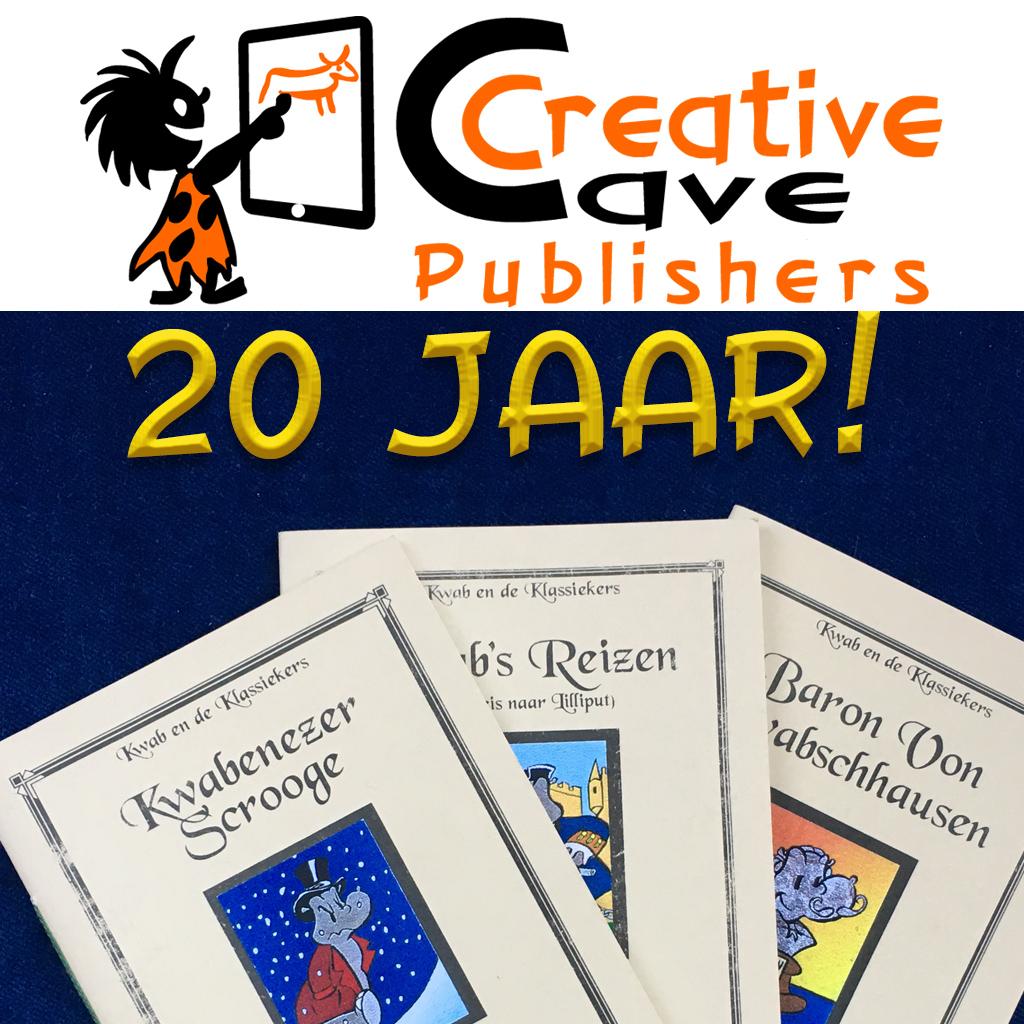 Creative Cave Publishers 20 jaar!