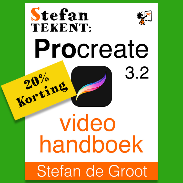 20% Korting Procreate Video Handboek