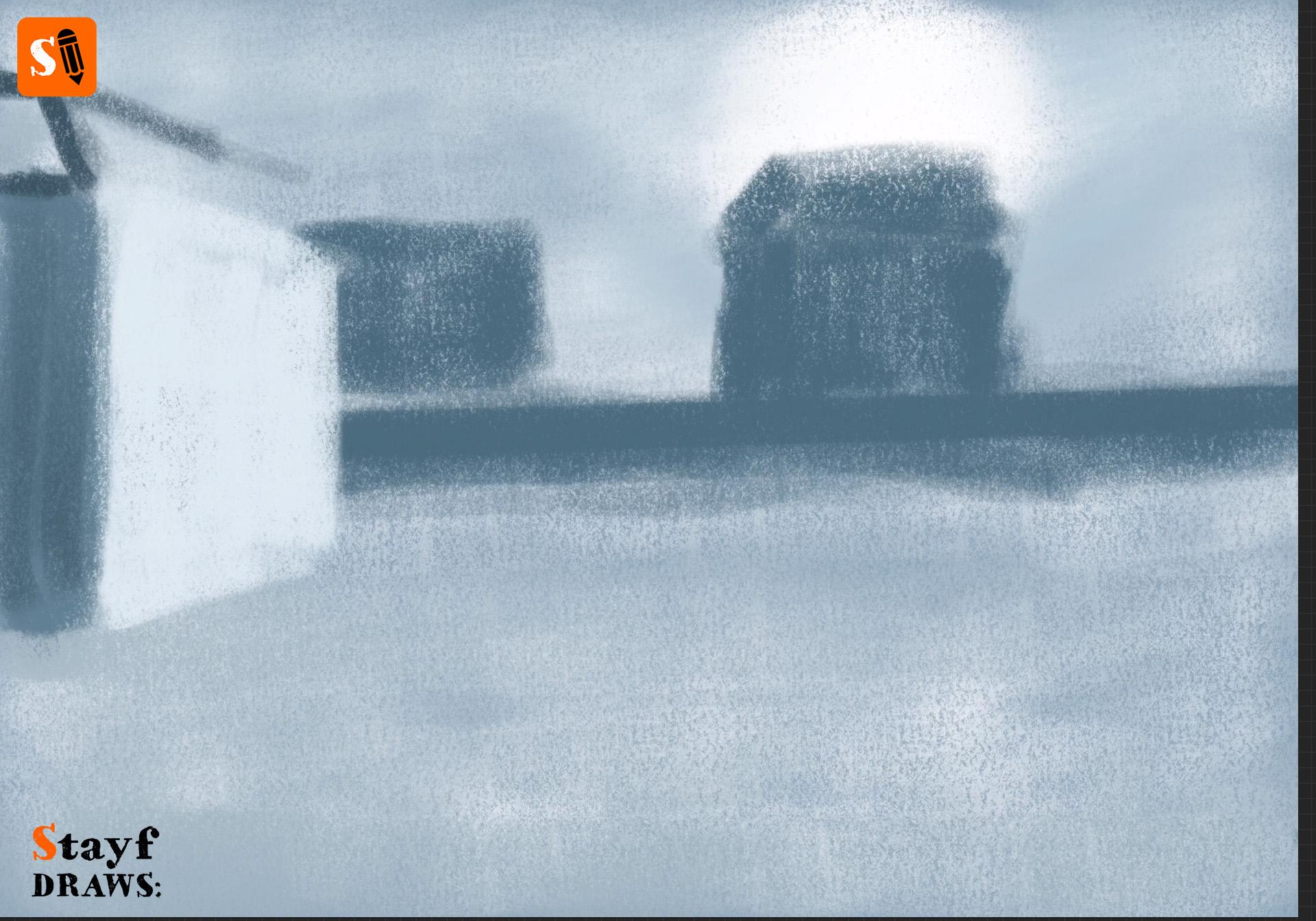 StayfDraws-Procreate-Pastels-Winterlandscape1