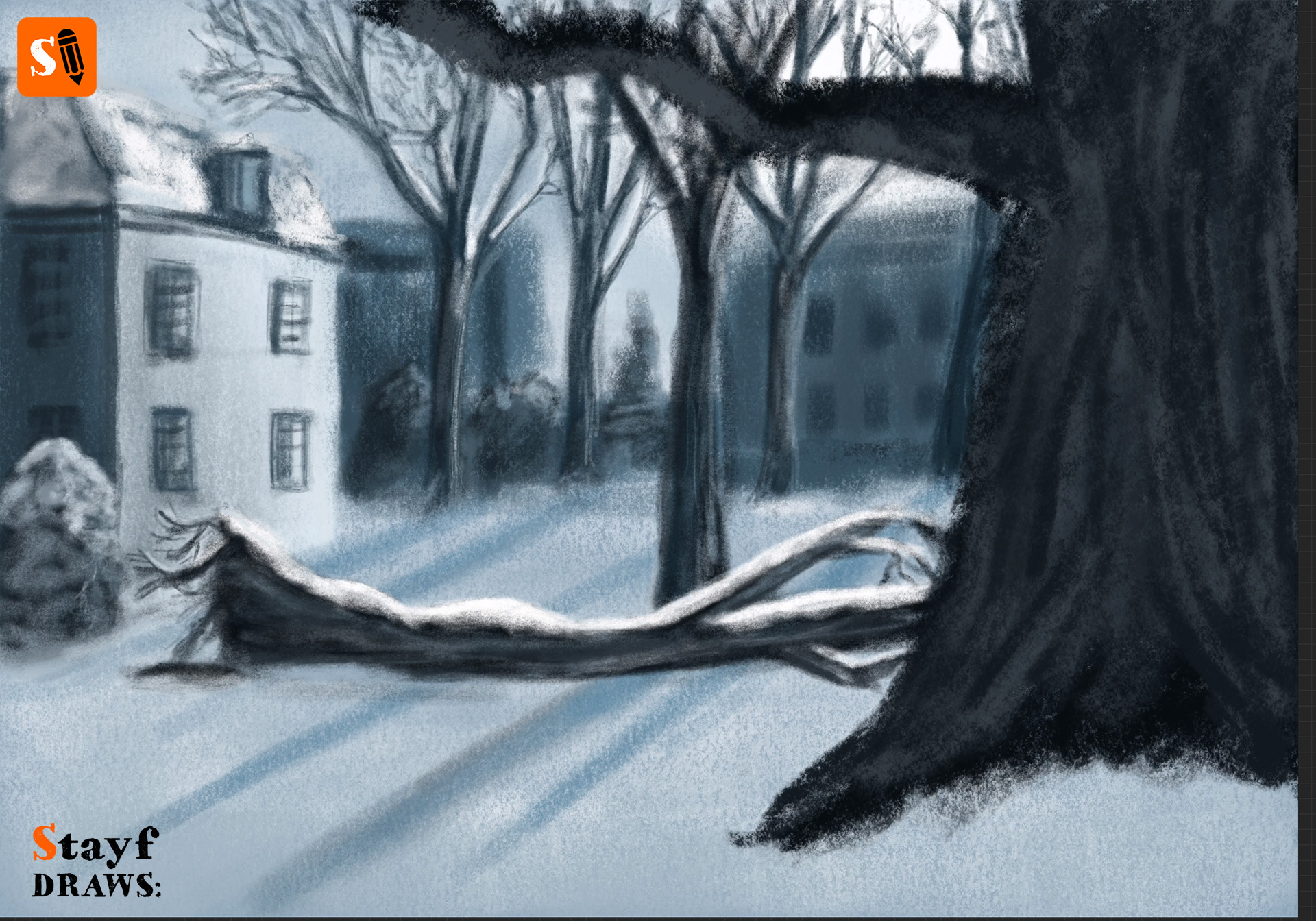 StayfDraws-Procreate-Pastels-Winterlandscape2