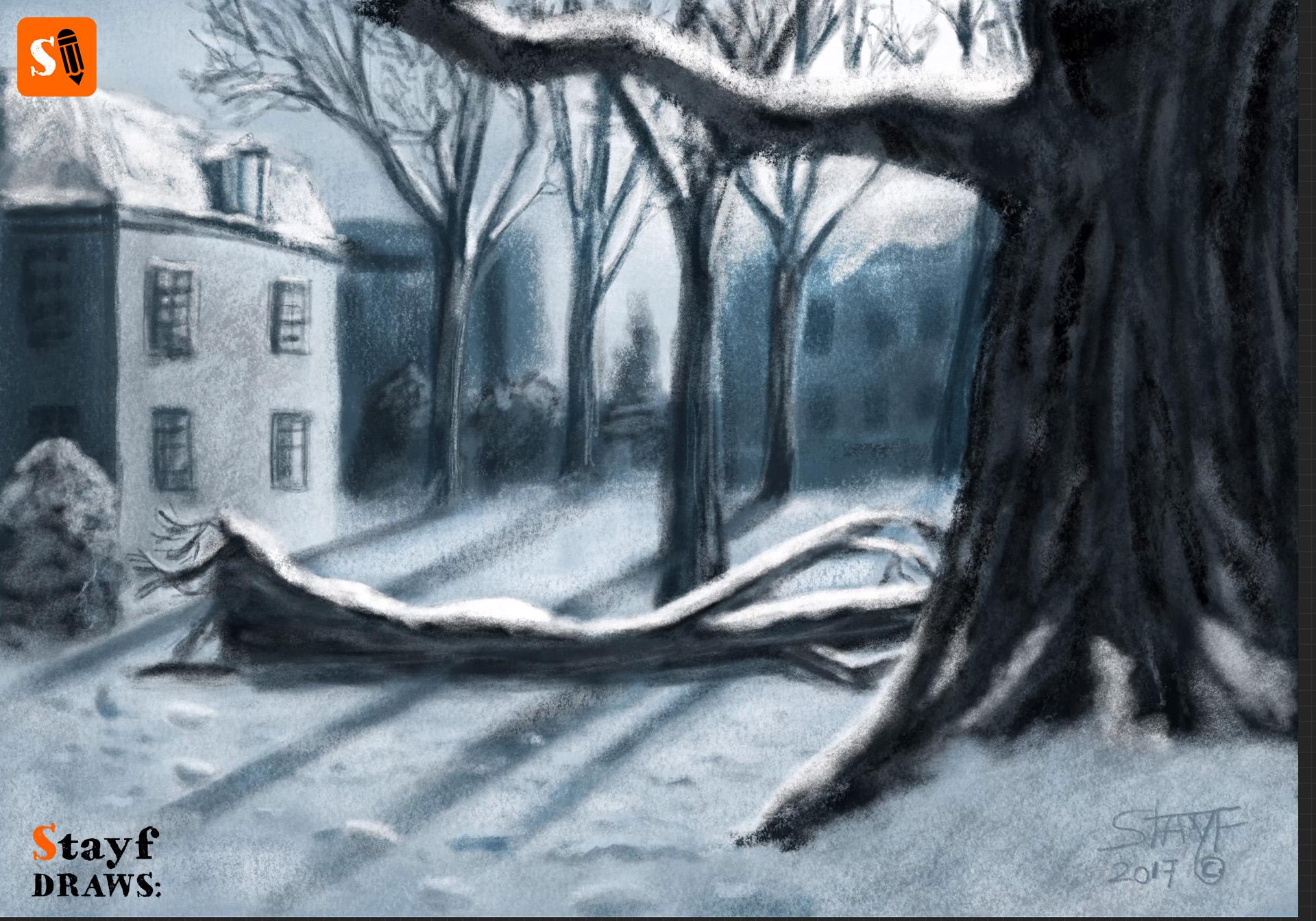 StayfDraws-Procreate-Pastels-Winterlandscape4