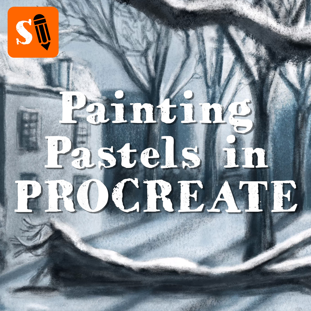 Painting Pastels in Procreate