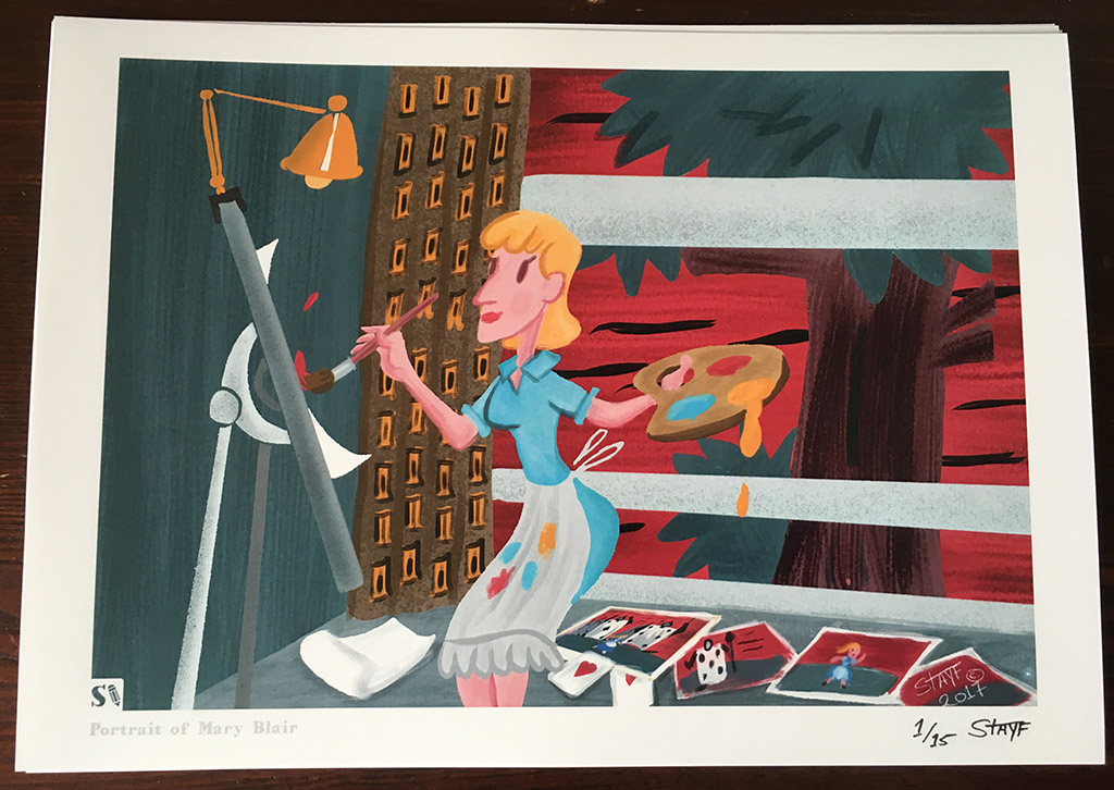 Mary Blair Portrait by Stayf