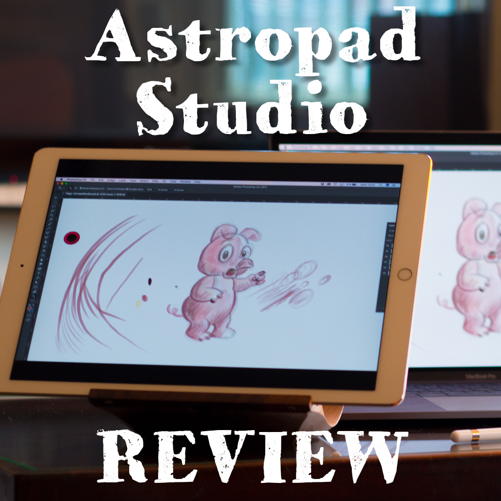 Astropad Studio Draw with iPad Pro on Mac