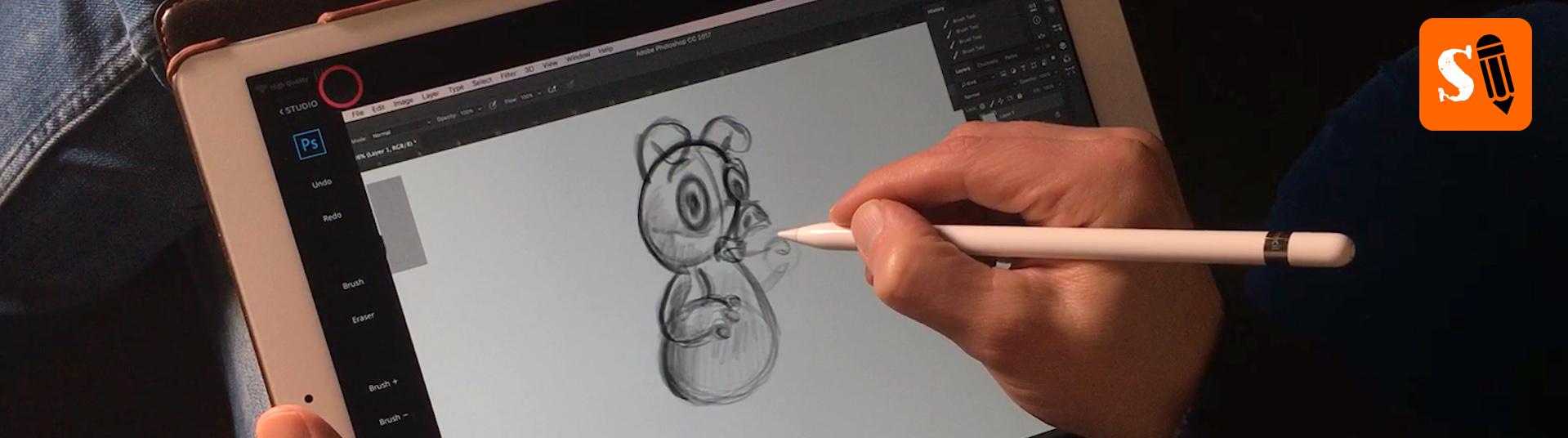 Creative Cave PublishersAstropad Studio Draw with iPad Pro