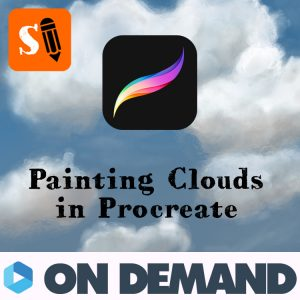 How to Paint Clouds in Procreate