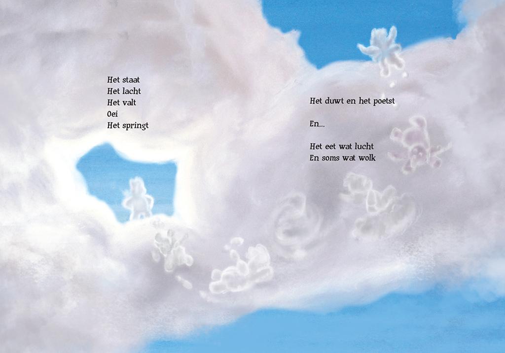 Engeltje prentenboek pagina 3 en 4