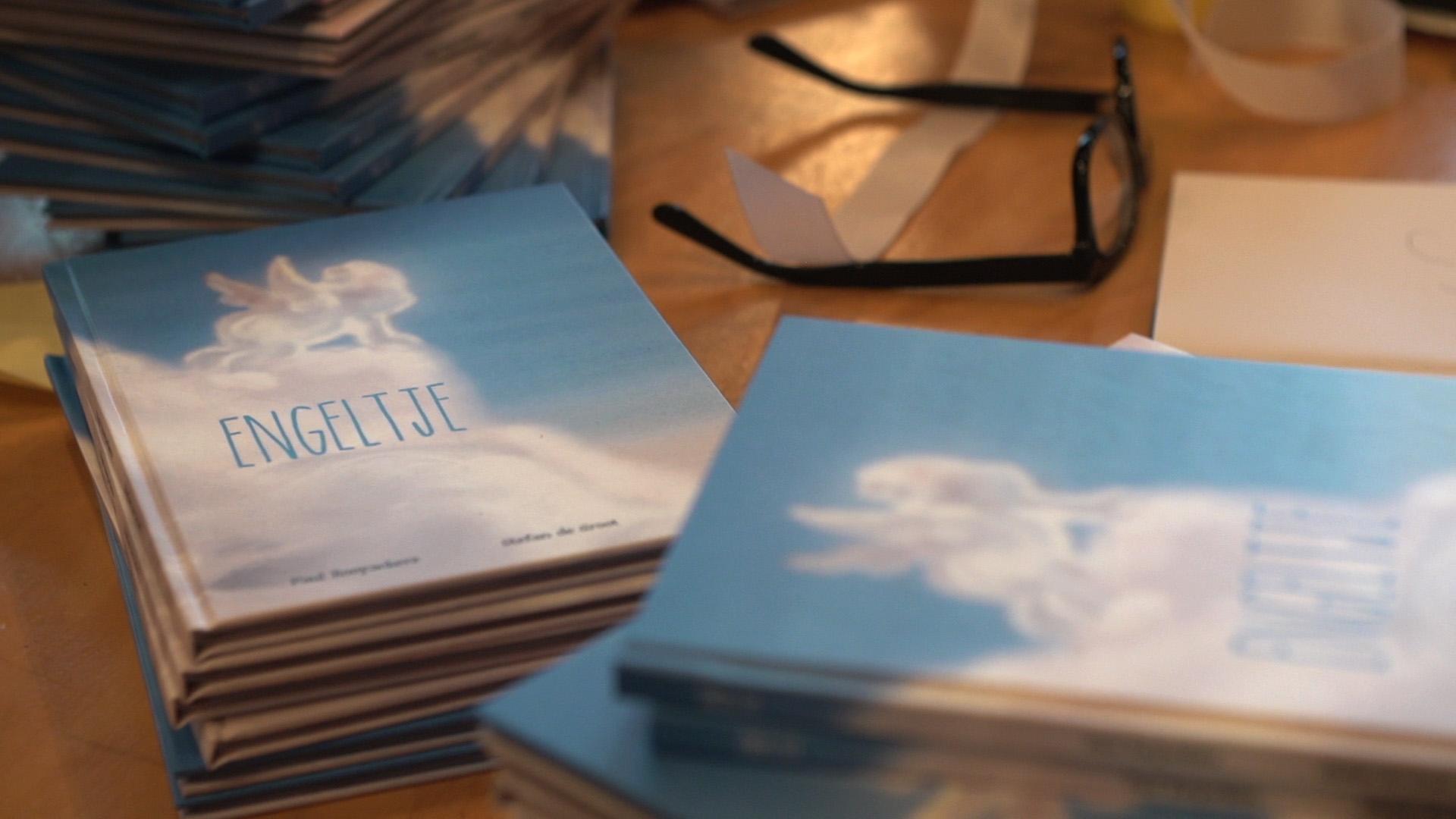 Engeltje boekpresentatie boeken