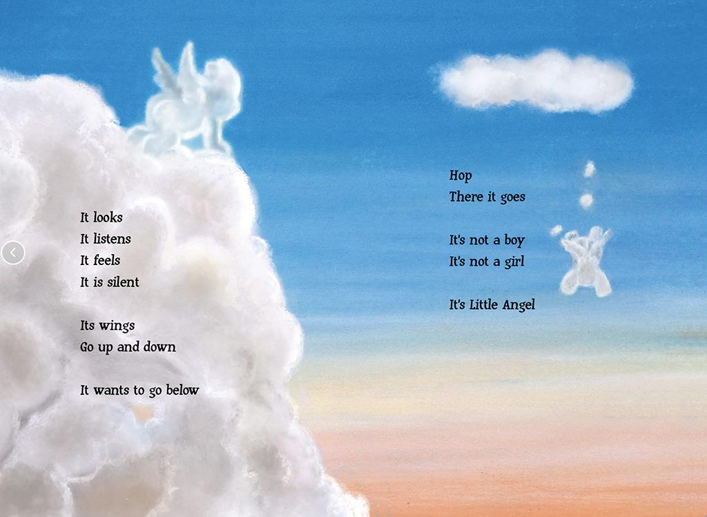 Little Angel illustration