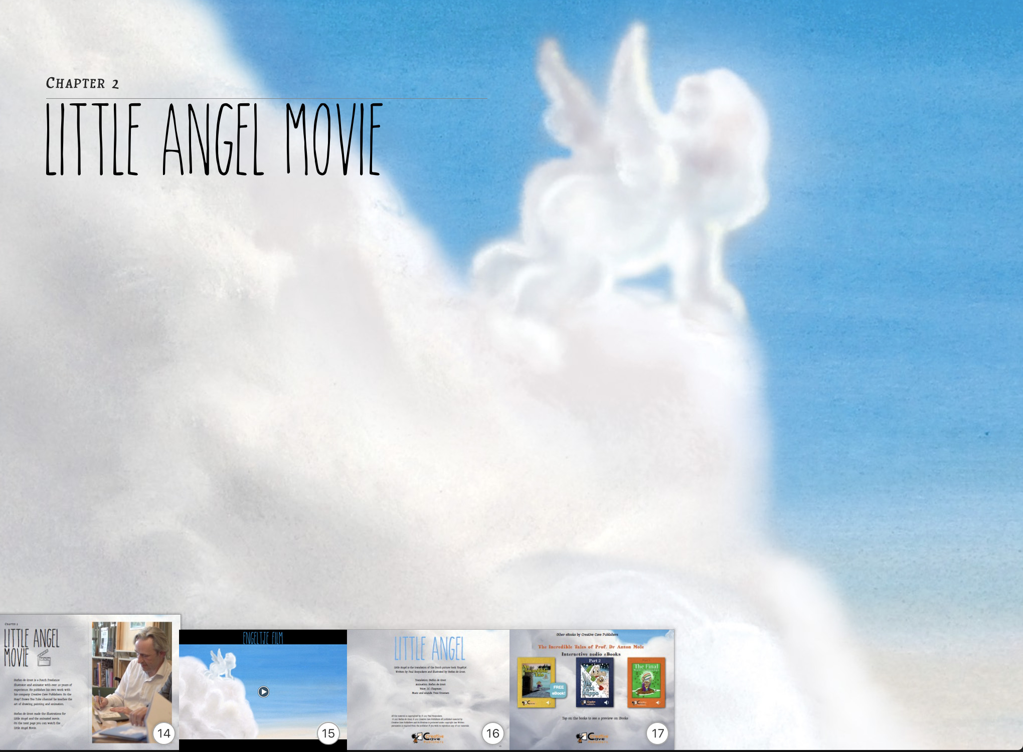 Little Angel picture book iBooks Movie