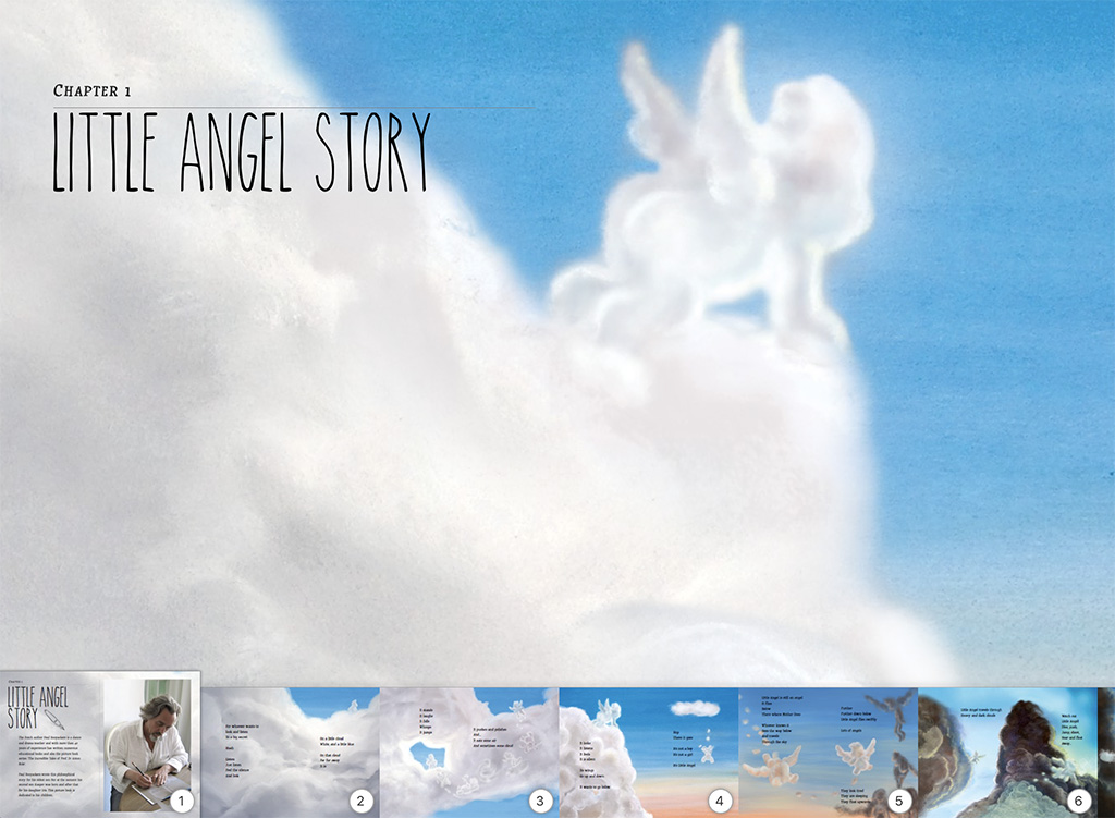 Little Angel picture book for iBooks story