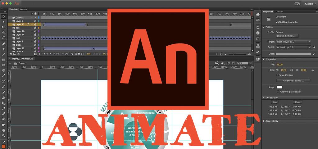 Adobe Animate Creative Cloud