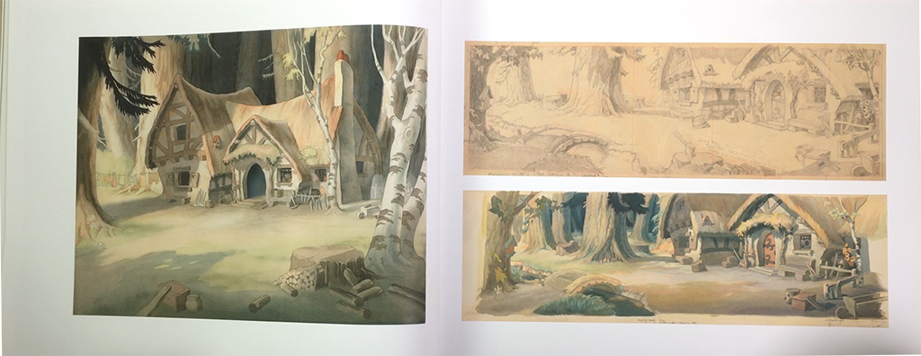 Layout&Background SnowWhite and the Seven Dwarfs