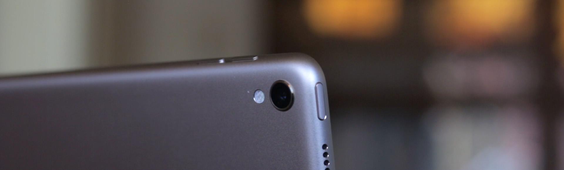 iPAd Pro 2017 Camera