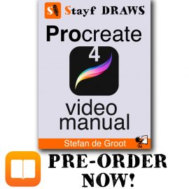 Pre-Order Procreate 4 Video Manual on iBooks