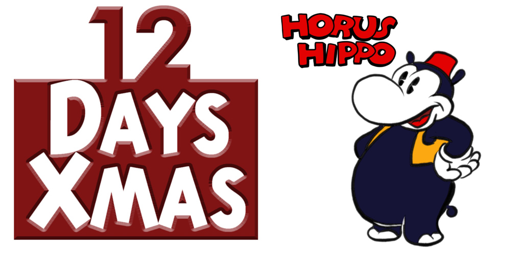 Horus Hippo 12 Days of Christmas Challenge