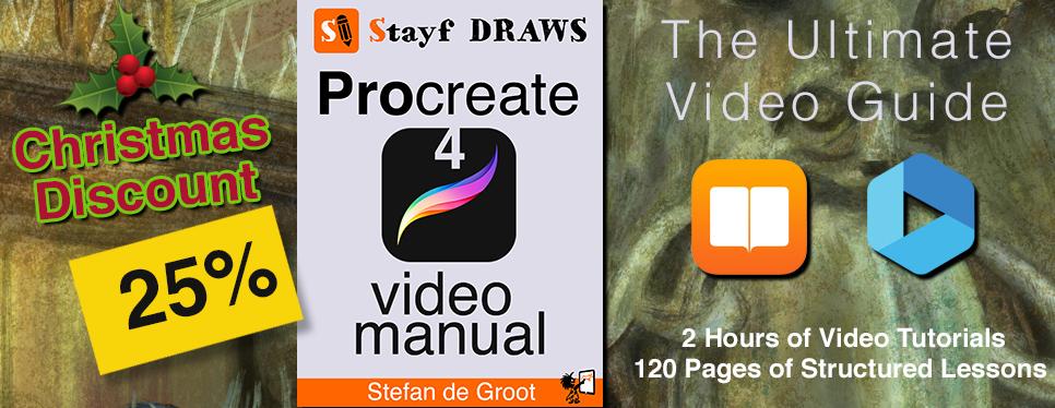 Procreate 4 Video Manual Christmas Discount 2017